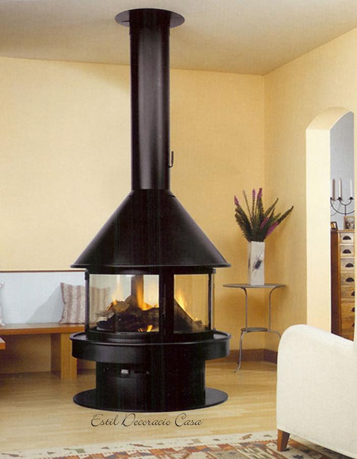 une chemin e quip e d 39 un foyer en fonte permet une forte puissance de chaleur avec une. Black Bedroom Furniture Sets. Home Design Ideas