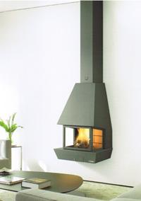 cheminée foyer à gaz