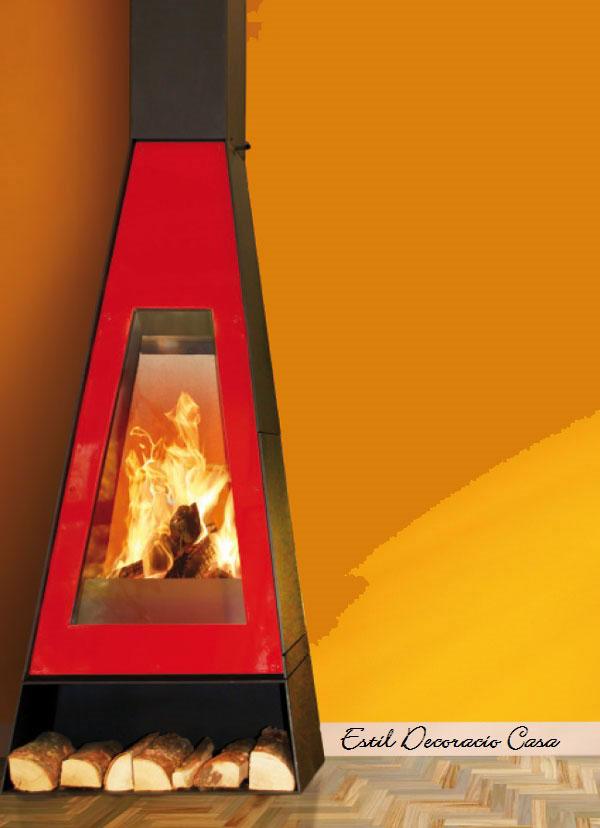 cheminée de face suspendue Arlet
